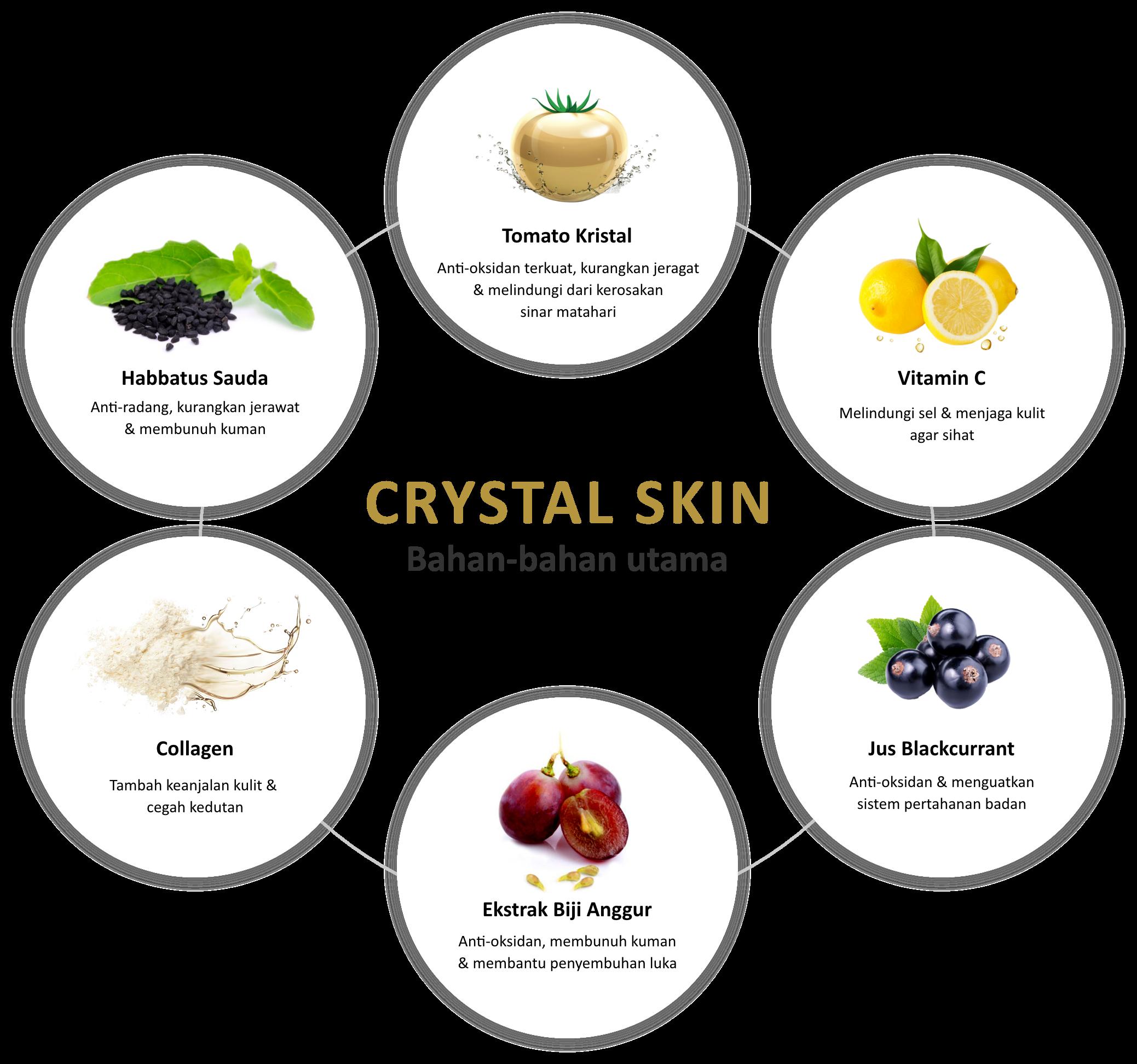 Crystal Skin Main Ingredients